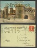Metz farb-AK Porte des Allemands 1920 (d4432)