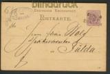 dt. Reich Bahnpost Berlin - Eisenach auf GSK (24769)