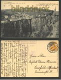 Altenberg im Erzgebirge sw-AK Die Pinge 1916 (d4654)