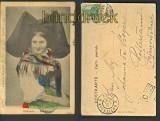 Strassburg farb-AK Elsässerin Alscienne 1904 (d4659)