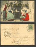 Strassburg farb-AK Elsässer Trachten 1904 (d4660)