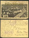 Schlettstadt im Elsass sw-AK Totalansicht Feldpost 1. WK (d4671)