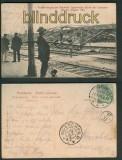Appenweier sw-AK Bahnhof Unwetter 1905 (d4679)