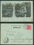 Hadersleben swAK Förde von der Wassermühle gesehen 1899 (d4745)