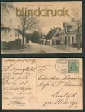 Rinkenis Rinkenæs sw-AK Partie vom Oberdorf 1913 (d4747)