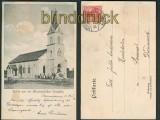 Tirupatty sw-AK Kirken paa vor Missionsstation 1907 (d4752)
