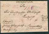 MEPPEN Vorphilatelie Briefhülle L1 1837 nach Cloppenburg (24856)