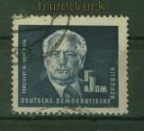 DDR Mi #  255  gestempelt 5 DM Präsident Wilhelm Pieck (25038)