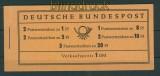 Bund Markenheftchen Mi # 4 Y II postfrisch (25103)