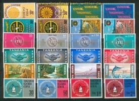 Ostafrikanische Gemeinschaft kl.  postfrisches Lot ex 132/220 (25112)