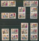 DDR Mi # 1323/28 Zusammendrucke WZd 183 - SZd 87 gestempelt (25239)