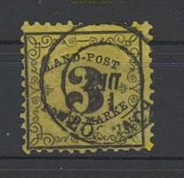 Baden Landpost Porto Mi # 2 x gestempelt  (21731)
