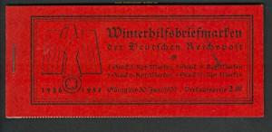 dt. Reich Markenheftchen Mi # 43 Moderne Bauten ** (22368)