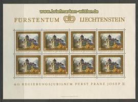 Liechtenstein Mi # 706/09 postfrische Kleinbögen (25336)