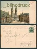 Bremen farb-AK Dom, Rathaus und Börse 1908 (d4783)