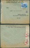 dt. Reich Mi # 742 EF Auslands-Zensur-Brief Wien 1941 (25478)