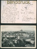 dt. Reich Feldpost Tschechoslowakei 1939 Übungsfeldpost (25512)