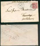 NDP Ganzsachenumschlag GSU 32 Aufbrauch Kiel 1869  (25551)
