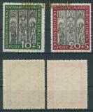 Bund Mi #  139/40 postfrisch Lübecker Marienkirche (25583)