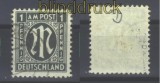 Bi-Zone AM-Post Mi #  16 D gestempelt geprüft Hettler (16299)