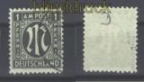 Bi-Zone AM-Post Mi #  16 D gestempelt geprüft Hettler (16301)
