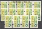 Bund ATM 1981 Mi # 1 großer Satz postfrisch  (21187)