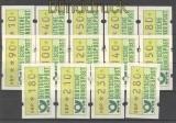 Bund ATM 1981 Mi # 1 großer Satz postfrisch  (21188)