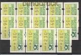Bund ATM 1981 Mi # 1 großer Satz postfrisch  (21189)