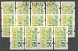 Bund ATM 1981 Mi # 1 großer Satz postfrisch  (21190)