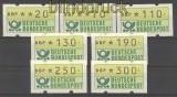 Bund ATM 1981 kleiner Satz komplett postfrisch (21199)