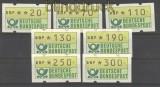 Bund ATM 1981 kleiner Satz komplett postfrisch (21200)