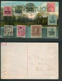Bergen op Zoom farb-AK Marken aus 9 Ländern 1917 (a0844)