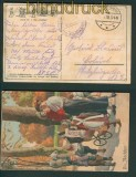 Die Nachhut farb-AK Künstlerkarte Immer Fachmann 1918 (25709)