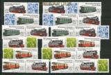 DDR Mi # 2864/67 Zusammendrucke WZd 576/87 postfrisch (25746)
