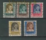 Luxemburg Mi # 227/31 gestempelt Kinderhilfe 1930 (25888)