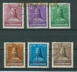 Luxemburg Mi # 284/89 gestempelt Kinderhilfe 1935 (25889)