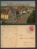 Bad Dürrheim farb-AK Gesamtansicht 1921 (d4970)