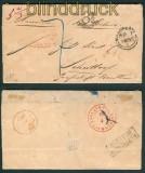 Manchester Auslandsbrief 1855 nach Schüttorf  (25904)