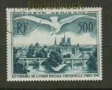 Frankreich Mi # 782 Flugpostmarke gestempelt (26136)