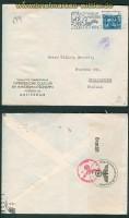 Niederlande Auslandsbrief nach Finnland Doppelzensur 1940 (26082)