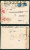 Italien Auslands-R-Brief nach Wien Doppelzensur 1941 (26095)
