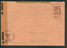 all. Besetz. Gemeinschaftsausgaben Zensurbrief 1947 (26151)