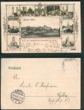 Saarbrücken St. Johann sw-AK Spicherer Höhen 10 ansichten 1902 (d5038)