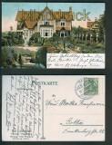 Bad Liebenstein farb-AK herzogl. Villa Georg 1910 (d5042)