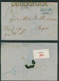Hannover Paketbegleitbrief aus Meppen nach Sögel 25.11.1862 (26226)