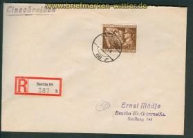 dt. Reich Mi # 865 EF R-Brief Berlin 30.1.1944 (26241)