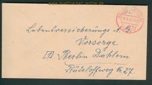 all. Besetzung Schmölln Gebühr bezahlt 16.8.1945 (26266)