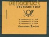 DDR Markenheftchen Mi #  3 b 1 postfrisch Fünfjahresplan 1960 (26333)