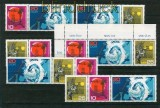 DDR Mi # 1343/45 Zusammendrucke WZd 186/91 postfrisch (26369)