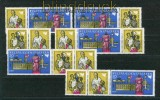 DDR Mi # 1478/80 Zusammendrucke WZd 204/09 postfrisch (26378)